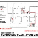 Primjer plana evakuacije.