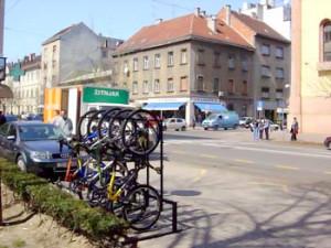 Bicycle racks 24