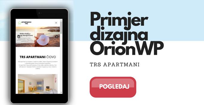 apartmani web dizajn